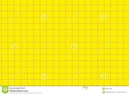yellow plastic board with dotted line like as graph paper stock