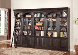 Bookcases With Ladder by Wall Units Amazing Wall Unit Bookcases Cool Wall Unit Bookcases