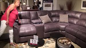 Lane Furniture Leather Reclining Sofa by Power Reclining Grand Torino Sectional By Lane Furniture Youtube