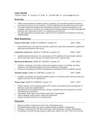 electronic technician resume business word templates geometric