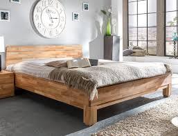 Schlafzimmer Bilder G Stig Massivholzbett Rino 160x200 Wildeiche Geölt Doppelbett Ehebett