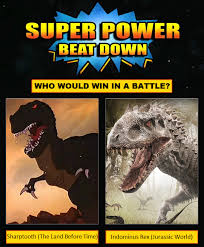 Land Before Time Meme - super power beat down sharptooth vs indominus rex by