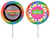 lollipop party favors party411 big personalized lollipops party favors
