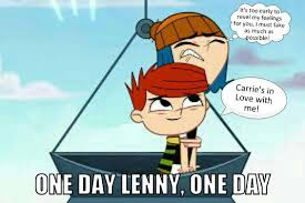 Lenny Meme - memes with the newmans one day lenny meme wattpad