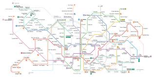 Madrid Metro Map by Maps Barcelona Metro 2017