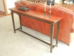 Wood Sofa Table Custom Made Reclaimed Wood Sofa Table Tables For Lv Rm