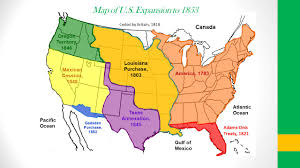 Louisiana Purchase Map by American Progress 1872 John Gast American Progress John Gast