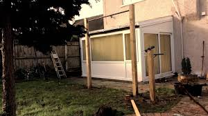 Backyard Pull Up Bar by Pull Up Bar And Dip Bars Installed In Your Garden Youtube
