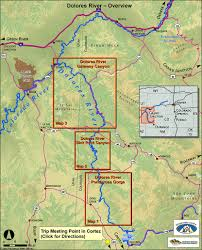 Highly Detailed River Map Of by Rafting In Colorado The Dolores River Ultimate Guide For White Water