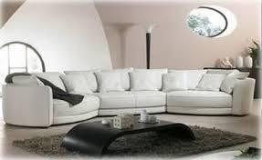 canapé 6 places canapé panoramique cuir bassano canapé contemporain d angle