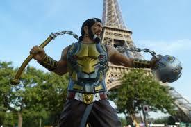 Large Eiffel Tower Statue Prabhas On Twitter