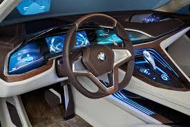 bmw future luxury concept bmw vision future luxury integrates augmented display