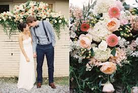 memphis garden wedding ruffled