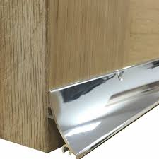 Exterior Door Rain Deflector by Rain Deflector With Black End Caps Hardex Chrome Coating 914mm
