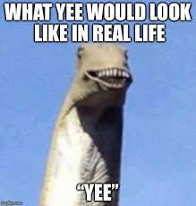Meme Yee - yee in real life lol imgflip