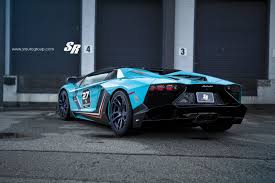 lamborghini dark purple baby blue lamborghini aventador gets pur wheels lp720 body kit