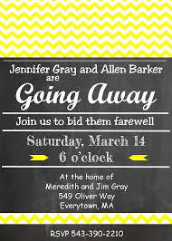 going away party invitations going away party invitations cimvitation
