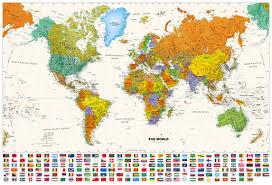 Decorative World Map Mapsherpa Pod World Maps
