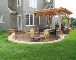 decking ideas for gardens pergola small yard design with pretty garden and half round