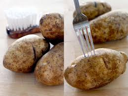 How To Cook A Potato In A Toaster Oven How To Make Perfect Baked Potatoes With Yummy Crispy Skin Bowl