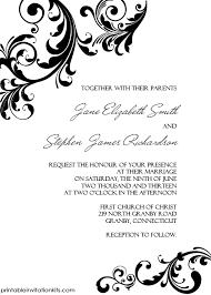 wedding borders wedding invitation swirling borders printable