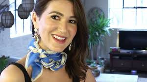 ways to wear short scarf for a more fashionable look how to tie a silk scarf like a pro today com