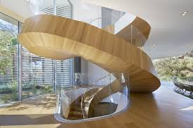Staircase Design Inside Home by Hypnotic Spiral Staircase And Smart Silhouette Captivate At This