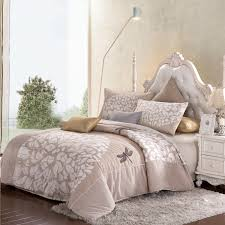 Personalized Comforter Set Aliexpress Com Buy High Quality Printed Embroidered 4 Pieces