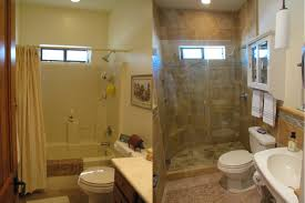 endearing remodeled bathrooms before and after amazing interior