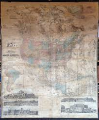 Wall Map Of Usa by Antique Wall Maps