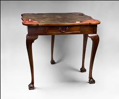 coffee table leather top george iii mahogany fold over gaming card table leather top