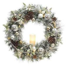 battery led wreaths garland decorations