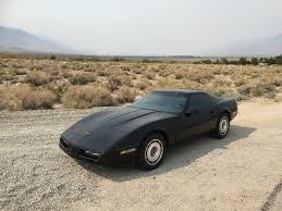 87 corvette for sale 1987 corvette coupe black 29 000 still on original