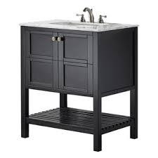 black bathroom vanities you ll wayfair
