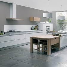 cuisine blanche sol gris cuisine grise d coration sol gris clair