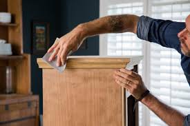 how to use minwax gel stain on kitchen cabinets how to use gel stain hgtv