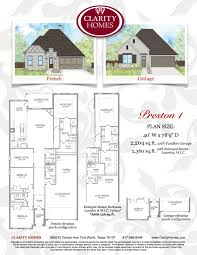 clarity homes preston clarity homes preston download preston 1 floor plan