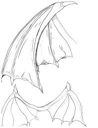 bat wings drawing bat wings by cybololz draw dragons