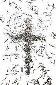 cross made of iron nails stock image image of cross 47942641