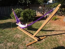 furniture bamboo hammock stands for modern outdoor furniture ideas