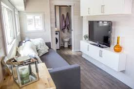 tiny house pops out for extra space curbed