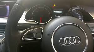how to easily reset audi a5 service message youtube