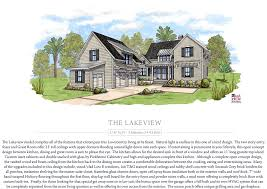 Lakeview House Plans by Hampton Lake Concept Home Collection