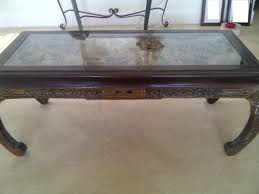 hand carved coffee table japanese hand carved coffee table see here tables ideas ebay teak