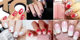 9 best valentines day nails for 2017 pink u0026 red valentine u0027s day