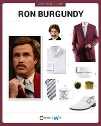dress like ron burgundy costume halloween and cosplay guides