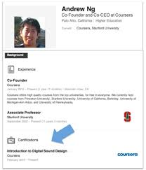 How To Put Your Linkedin Profile On Your Resume Add Coursera Accomplishments To Your Linkedin Profile Coursera Blog