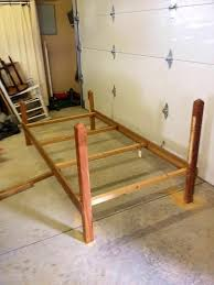 How To Attach A Footboard To A Bed Frame How To Make A Diy Wwe Wrestling Bed Under 100 Snapguide