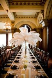 ostrich feather centerpieces white feather centerpieces weddingideas250x375 the feather