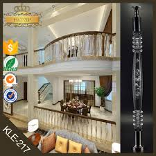 Spiral Stair Handrail Handrail For Indoor Stair Portable Stair Railings Crystal Spiral